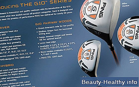 Ping G10 Driver Specifikationer