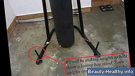 Everlast Heavy Bag Stand Installationsanvisningar