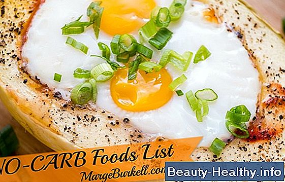 No-Carb Foods List
