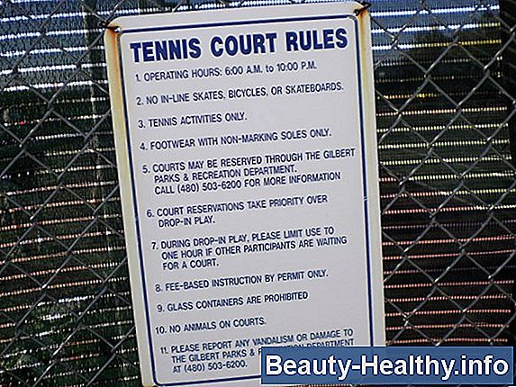 Tennis Ladder Rules