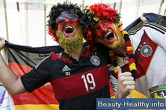 Fotball Face Paint Ideas