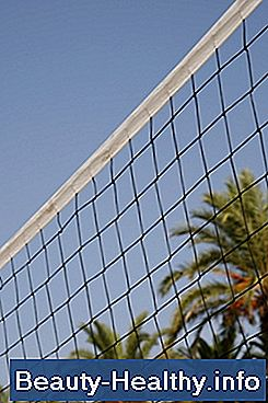 Avstandsspesifikasjoner for Volleyball Net Pole Setup