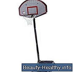 Hvordan Winterize Portable Basketball Hoops